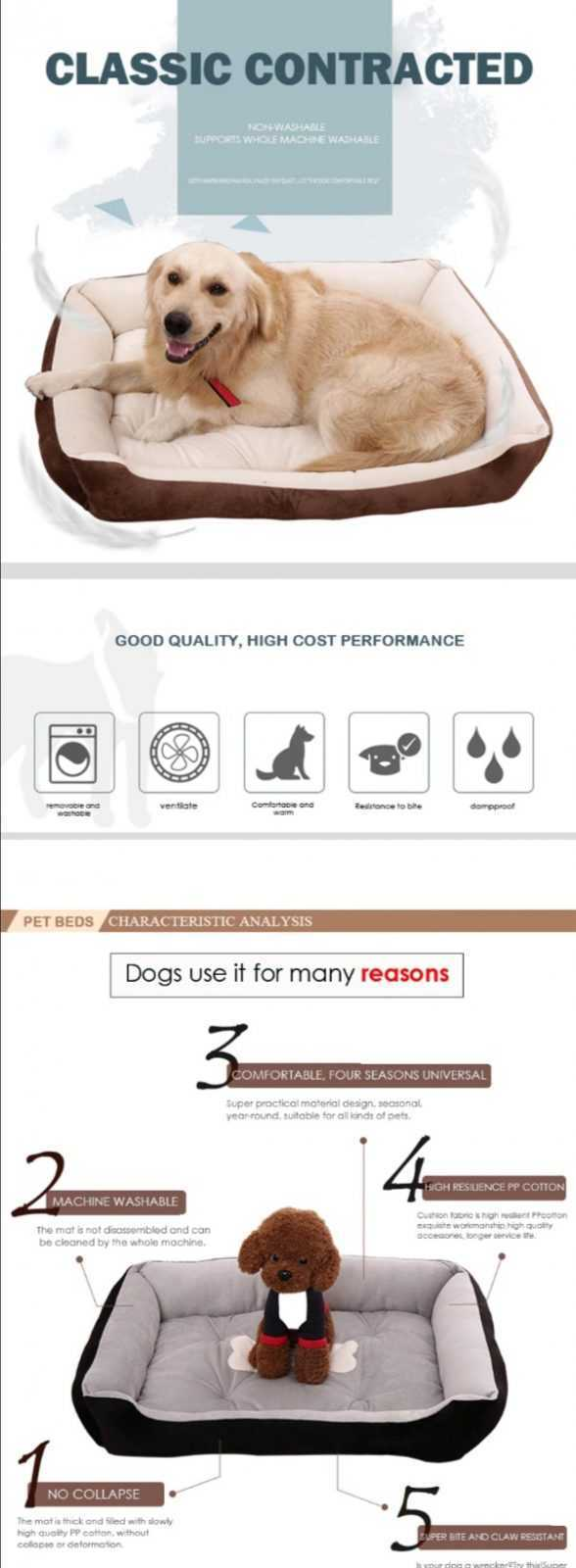 Warm Dog bed - For small, medium and large dog