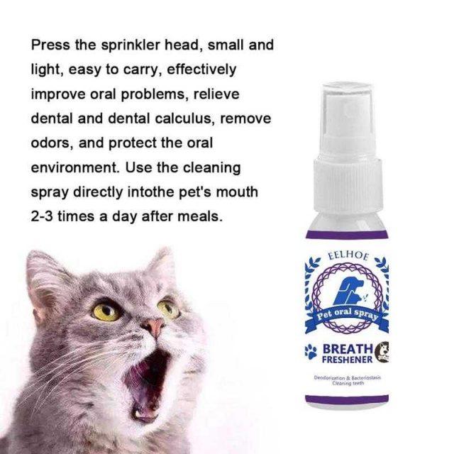Pets dental care spray