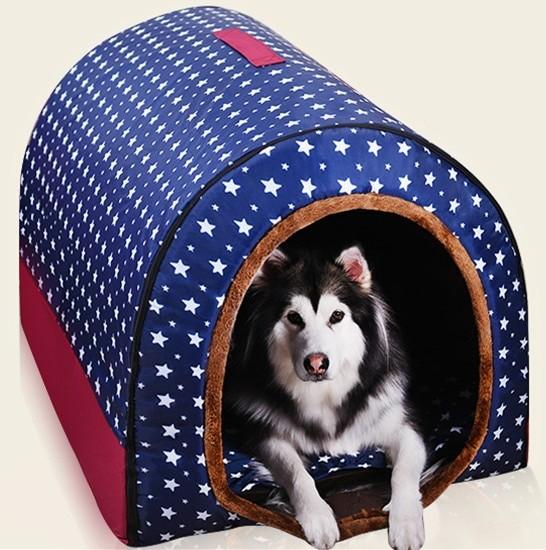 Pet Big Dog House Fully Washable