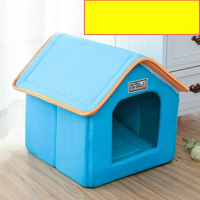 Pet House bed Foldable For Small and Medium Dogs