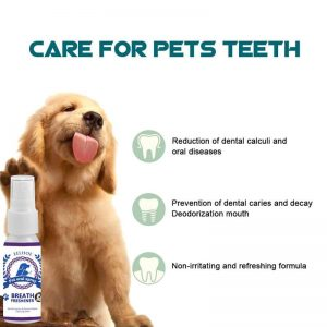 Pets dental care spray