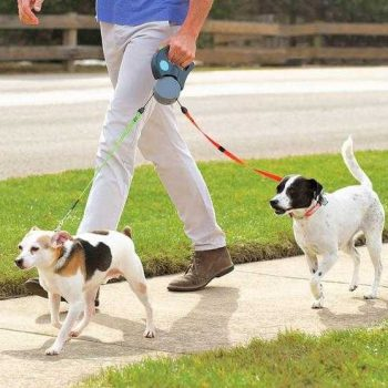 No more tangle with this dual leash