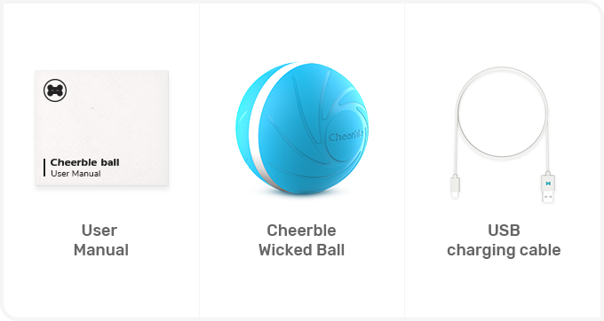 Newest USB Pet Dog Cat Jumping Activation Ball LED Light Flashing Bouncing Ball