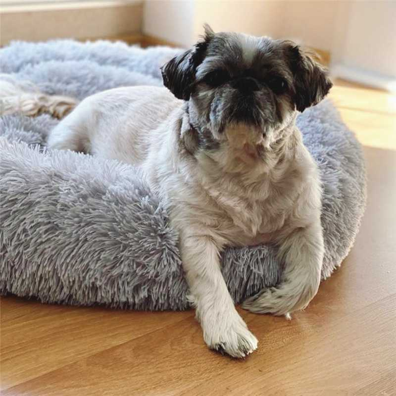 Plush dog bed - Wadosam